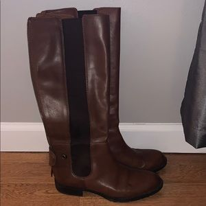 High Brown Boots!